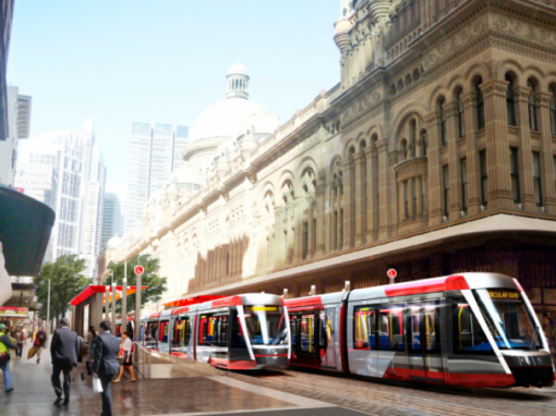 Sydney Light Rail CSELR Project